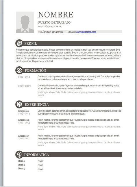 Ejemplos de curriculum vitae europeo en word jpg 715x970