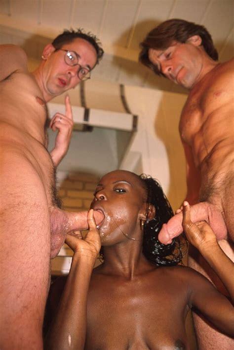 White girl fucks two black guys in an interracial jpg 535x799